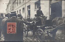 CPA école Militaire 21 Juillet 1906 Ct Dreyfus Qui Vient D'être Décoré Quitte L'école Militaire Antisémitisme, Judaïca - Personnages