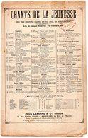PARTITION MUSIQUE.CHANTS DE LA JEUNESSE.RIGOLETTO.OPERA DE VERDI.  Achat Immédiat - Partitions Musicales Anciennes