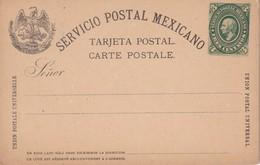 MEXIQUE ENTIER POSTAL CARTE - Mexico