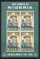 Nigeria 1965 Nigerian Boy Scouts MS MLH - Nigeria (1961-...)