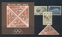 Nigeria 1965 Summer Olympics Tokyo + MS MUH - Nigeria (1961-...)