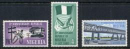Nigeria 1966 Republic 3rd Anniv. MLH - Nigeria (1961-...)