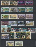 Nigeria 1973-80 Pictorials Assorted, Prints & Shades FU - Nigeria (1961-...)