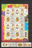 HONG KONG - YT 1109/1112 ** - DESSINS D'ENFANT - COTE YVERT = 27.5+ EURO - 1997-... Région Administrative Chinoise