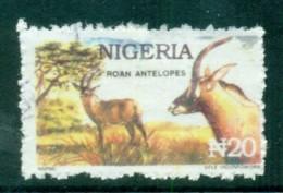 Nigeria 1992-92 Postal Forgeries, Antelope FU - Nigeria (1961-...)