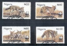 Nigeria 2003 WWF Side-Striped Jackal FU - Nigeria (1961-...)