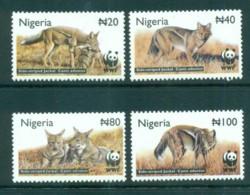 Nigeria 2003 WWF Side-striped Jackal MUH Lot73232 - Nigeria (1961-...)