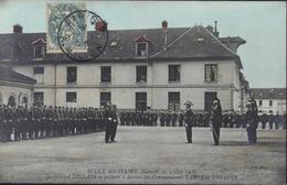 CPA école Militaire 21/7/1906 Le Général GILLAIN Se Prépare à Décorer Les Cts TARGE Et DREYFUS Judaïca, Antisémitisme - Personnages