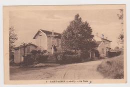 Saint Aubin, La Poste - France