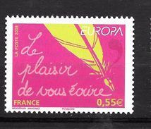 France: N° 4181**  (Composition Avec Plume D'oie Et De Stylo) - France