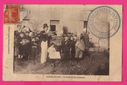 CPA (Réf : (PA147) Carte Rare PLEINE-SELVE (33 GIRONDE) La Fanfare Des Carottiers  (très Animée) - France