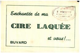 C L/Buvard Cire Laquée  (Format 14 X 21) (N= 1) - Blotters