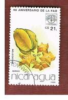 NICARAGUA - SG  2779    -    1986 F.A.O.: FRUITS (MELOCOTON)    -  USED° - Nicaragua