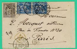 Castres Saint Lagout - Tarn - Enveloppe E Juin 1978 - Belle - 1876-1898 Sage (Type II)