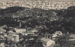 CPA Bosnie Herzégovine Sarajevo Bistrik Partie YT 32 CAD K U K Militpost Kasvp Kasva ? - Bosnie-Herzegovine