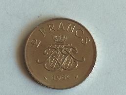 Monaco 2 Francs 1981 - Monaco