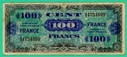 100 Francs -  France - Série 1944 - Sans Série - N°. 44754699 - TB+ - - Treasury