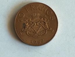 Monaco 10 Francs 1982 - Monaco