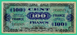 100 Francs -  France - Série 1944 - 7 - N° 74532828 - TB+ - - Treasury