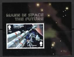 ILE De MAN - BLOC N° 51 ** (2003) Espace - Isla De Man