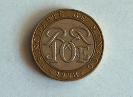 Monaco 10 Francs 1998 - 1960-2001 Nouveaux Francs