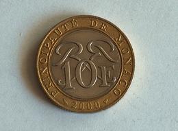 Monaco 10 Francs 2000 - 1960-2001 Nouveaux Francs