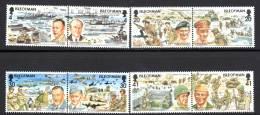 ILE De MAN - N°629/36 ** (1994)  Cinquantenaire Du Débarquement Allié En Normandie - Man (Ile De)