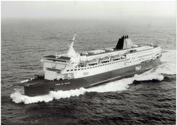 PRIDE OF CALAIS (P&O European Ferries)  - XXL-Pressefoto S/w - Schiffe