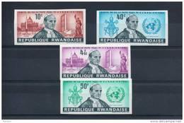 Rwanda. Visite Du Pape Paul VI. Serie Non Dentelée - Rwanda