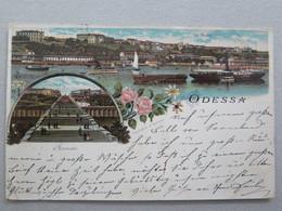 ODESSA - CARTE LITHO - CIRCULÉE EN 1898 - Ucraina