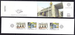 Europa Cept 1990 Greece Booklet ** Mnh (40633) - Europa-CEPT