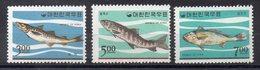 COREE DU SUD  Timbres Neufs ** De 1966  ( Ref 5649 ) Animaux -  Poissons - Corée Du Sud