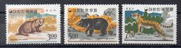 COREE DU SUD  Timbres Neufs ** De 1966  ( Ref 5650 ) Animaux -  Mammifères - Corée Du Sud