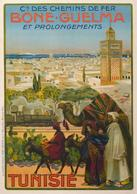 African Travel Postcard Bone-Guelma Tunisie 1920 - Reproduction - Advertising
