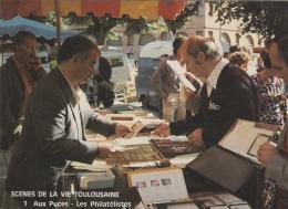 Marchés - Marché Brocante - Métiers - Philatélie Collections Timbres - Toulouse - Mercati