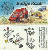 KINDER RALLYE RACER D 1993 BPZ 613185 - Handleidingen