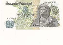 Portugal-nota De 20$00 Garcia Da Horta - Portugal