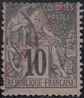 Saint-Pierre Et Miquelon 1859-1909 - N° 34 (YT) N° 35 (AM) Oblitéré. - St.Pierre Et Miquelon