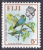 Fidschi-Inseln Fiji 1975 Tiere Fauna Animals Vögel Birds Oiseaux Aves Uccelli Brillenvogel White-Eye, Mi. 334 ** - Fiji (1970-...)