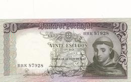 Portugal-nota De 20$00  Santo Antonio - Portugal