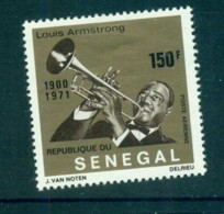 Senegal 1971 Louis Armstrong MLH Lot73509 - Senegal (1960-...)