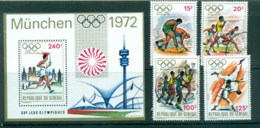 Senegal 1972 Mexico Olympics + MS MLH/FU Lot73513 - Senegal (1960-...)