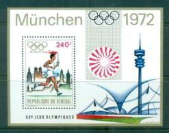 Senegal 1972 Summer Olympics, Munich MS MUH - Senegal (1960-...)