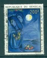 Senegal 1973 Painting By Marc Chagal FU Lot73585 - Senegal (1960-...)