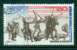 Senegal 1975 250f American Bicentennial FU Lot38562 - Senegal (1960-...)