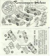 KINDER ALLEMAND RENNWAGEN SCHAU D 1991 Porsche 936619264 - Notices