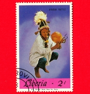 LIBERIA - Nuovo - 1967 - Musica - Strumenti Musicali - African Rattle - 2 - Liberia