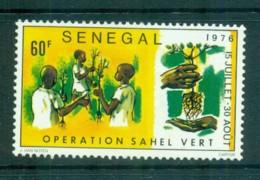 Senegal 1976 Reclamation Of Ahel Region MLH Lot73538 - Senegal (1960-...)