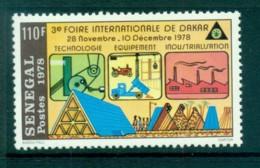 Senegal 1978 Intl. Fair Dakar MLH Lot73550 - Senegal (1960-...)