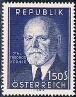 Republik Osterreich, 1953, # 819, MH - 1945-60 Unused Stamps